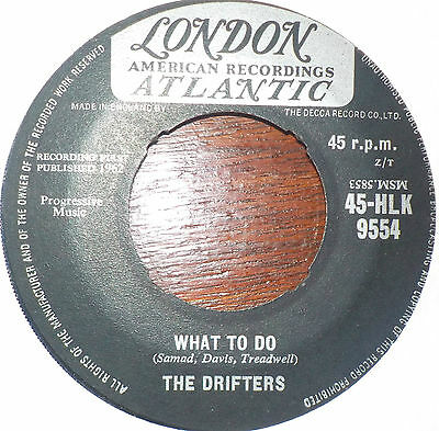 ♫ Northern Soul/R&B - THE DRIFTERS - WHAT TO DO on LONDON - Hear ♫