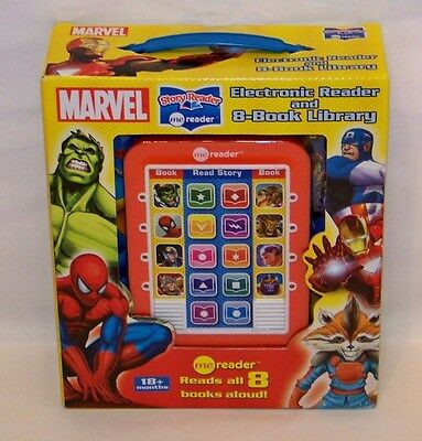 Marvel Me Reader Electronic Reader and 8-Book Library