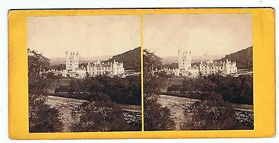 Stereoview By Gw Wilson - No 14 Balmoral Castle From North-West