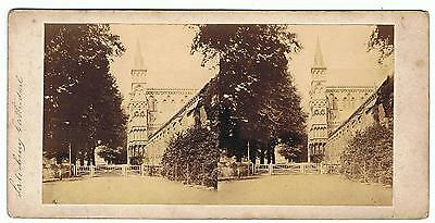 Stereoview - Salisbury Cathedral