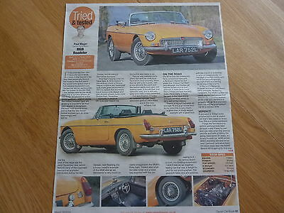 MGB Roadster 1973 - Classic Test Article