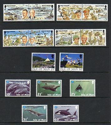 (A1)  Isle Of Man Selection  Mnh  As Scans Collect Or Postage