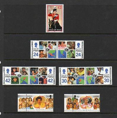 (A3)  Isle Of Man Selection   Mnh  As Scans Collect Or Postage