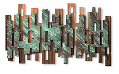 Elevate' Abstract Metal Wall Art by Ash Carl Modern Home Decor Metal Sculpture