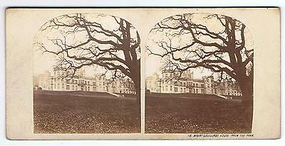 Stereoview - Mount Edgecumbe House From The Park , Devon