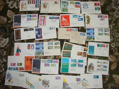 (M33 ) Bundle Great Britain Pre Dec  First Day  Covers  Look Going Cheap Look