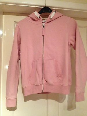 Girls Pink Next Zip Up Top Age 12 Years