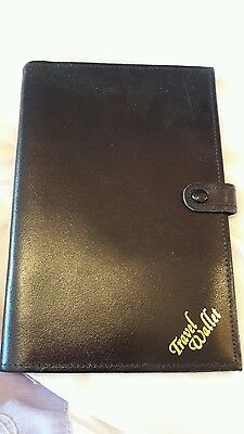 Travel Wallet Real Leather made in England passport tickets currency