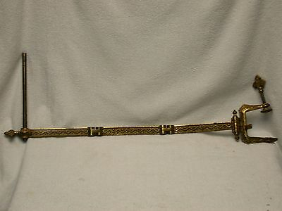 Steampunk Antique Architectural Swing Arm Light Fixture Hardware 1867 Eastlake