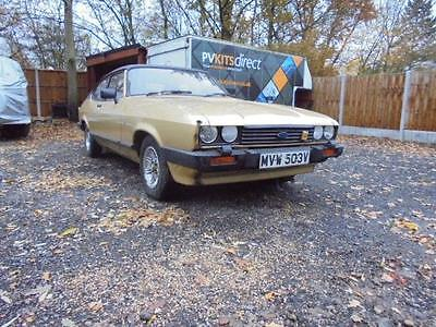 1980 Ford Capri Mk3 2.0 Ghia Auto 54,000 Miles Im 3Rd Owner Was Used By Ford Hq