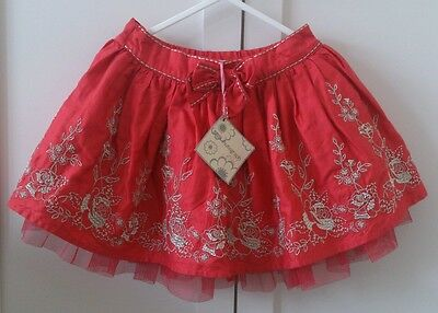 New with tags M and S Autograph Girls party skirt 12-18 months