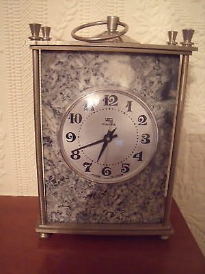 Vega 14 Jewels Russian Carriage Clock Good Working Condition 1970's?