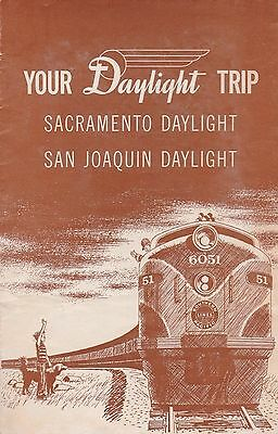 Public Timetable. Southern Pacific Daylight. Printed 4-27-58.