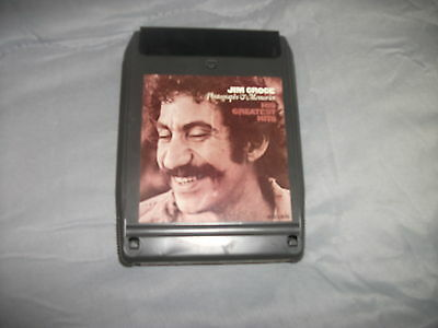 8 Track Tape - Jim Croce - Photographs & Memories His Greatest Hits