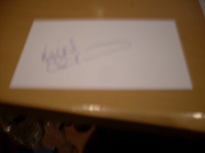 signed card of ex tottenham coventry derby footballer keith osgood