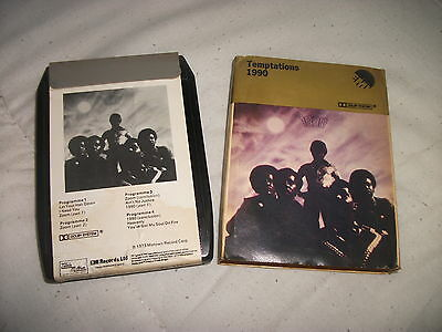 8 Track Tape - The Temptations - The Temptations 1990