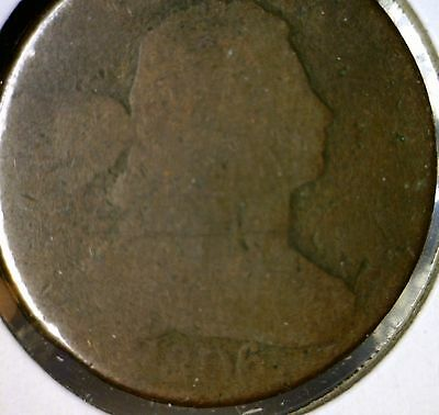 1806 Large Cent Drapped Bust Copper Coin Estate LOT 1of 100 Auctions  NO RESERVE
