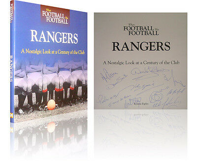 Hand Signed Book Rangers 'a Nostalgic Look At The Club' 2010