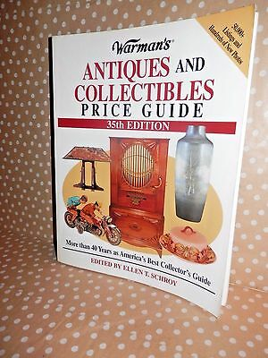 *** KRAUSE Books *** Warman's Antiques & Collectibles Price ID Guide 35th  Ed.