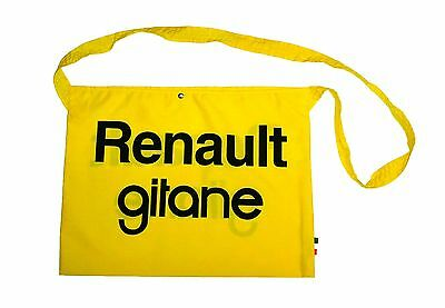RENAULT RETRO CYCLING TEAM BIKE FEED BAG MUSETTE - Fixed Gear - Made in Italy
