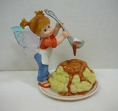 Mashed Potatoes and Gravy Figurine My Little Kitchen Fairies by Enesco in Box