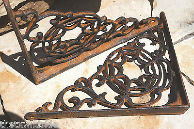 (10), Spider Web, Wall, Shelf, Brackets, Corbels, Library, Closet, Hardware, B-7