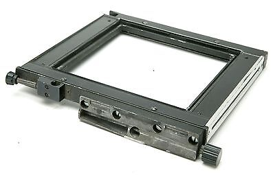 """Sinar 4x5"""" P & P2 Rear Carrier Frame. Used."""