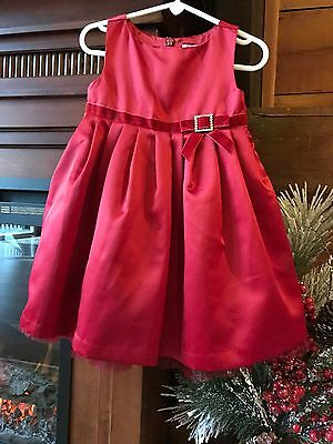 NWT Girl's Gymboree Holiday Dress, Size 18 To 24 Months