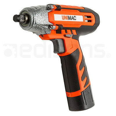 """1/2"""" Cordless Impact Wrench - Lithium-Ion Battery Rattle Gun Sockets"""