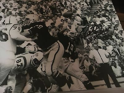 Cotton Davidson Oakland Raiders Signed 8x10 Photo w/COA