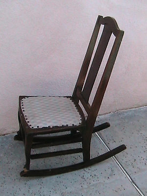 Antique Child's Rocking Chair The Philadelphia Chair Co • £27.22