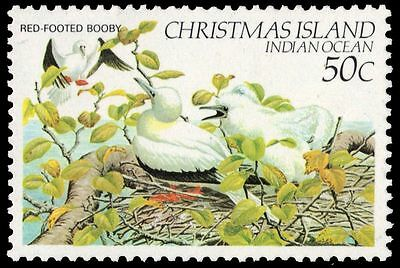"""CHRISTMAS ISLAND 126 (SG161) - Birds """"Red-footed Booby"""" (pa77471)"""
