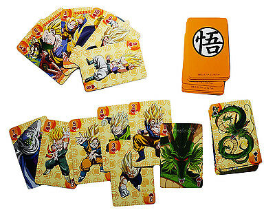 Dragon Ball Z Anime Goku Playing Cards Officially Licensed 52-Card Deck New