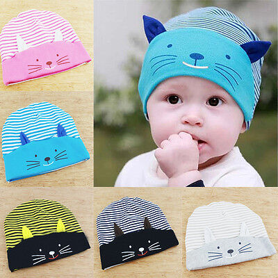 New Cute Toddler Kids Baby Boy Girl Infant Cotton Soft Warm Hat Cap Beanie
