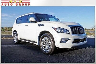 2016 Infiniti QX80  2016 QX80 Immaculate One Owner Simply Like New! Navigation Heated Seats Rear Cam