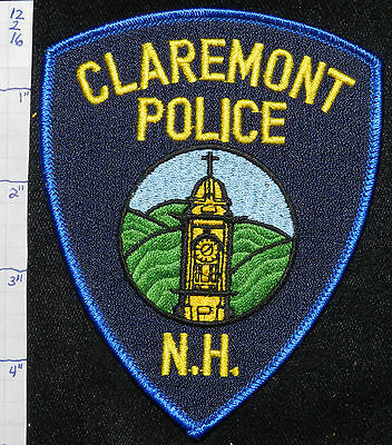 New Hampshire, Claremont Police Dept Patch