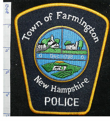 New Hampshire, Farmington Police Dept Patch