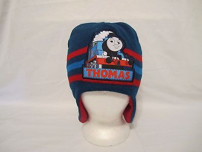 Thomas The Train & Friends Blue Red Winter Beanie Berkshire One Size Fits Most