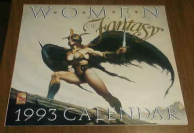 1993 Calendar - Women of Fantasy TSR Inc - Role Playing Game Girls