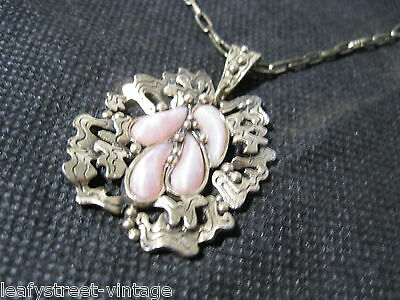 Vintage Miracle Pendant And Necklace