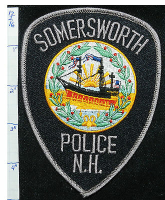 New Hampshire, Somersworth Police Dept Black Patch