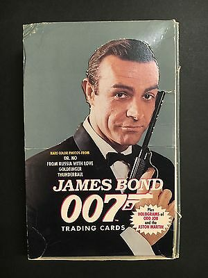 James Bond Trading Card Empty Box From 1993