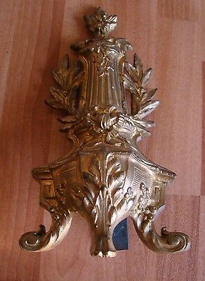 Antique  Pair of Fireplace Brass Victorian Andirons Chenets