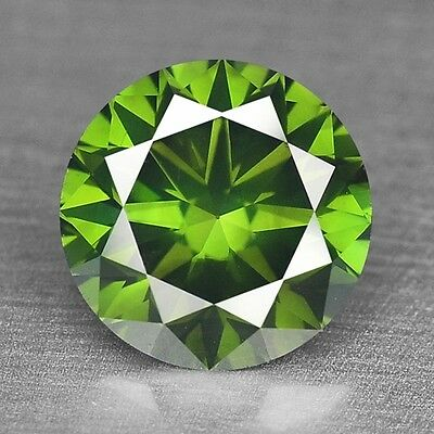 FIERY 0.45 Cts TOP SPARKLING FANCY AAA GREEN COLOR NATURAL LOOSE DIAMONDS SI1