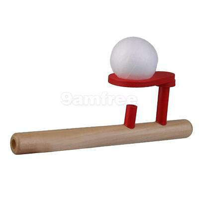 Wood Ball Blower Gift Oral Therapy Autism Training Classic Toy Motor Speech