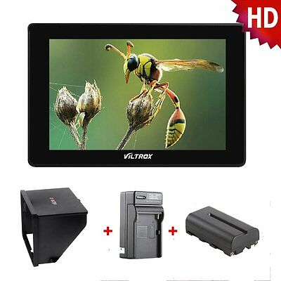 1920*1200 HD LCD Director Camera Video Monitor Display Screen For Canon Nikon