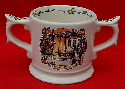 """""""TAUNTON CIDER"""" DOUBLE-HANDLED MUG - LIMITED EDITION by WADE"""