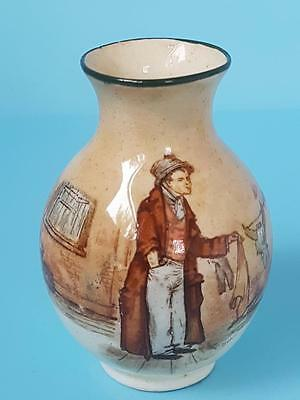 Small Royal Doulton Dickens Series Ware The Artful Dodger Spray Vase