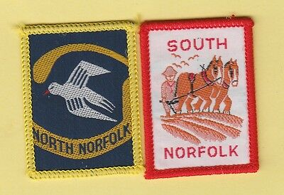 Boy Scout Badges Ext NORTH+ SOUTH NORFOLK Districts