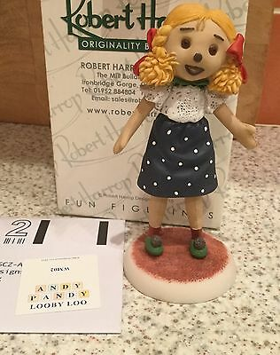 Robert Harrop Watch With Mother - Looby Loo Figurine - New In Box